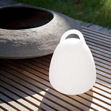 kabellose  LED-Tischleuchte Campana für den Garten
