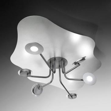 LED-Deckenleuchte HAO 6-flg.