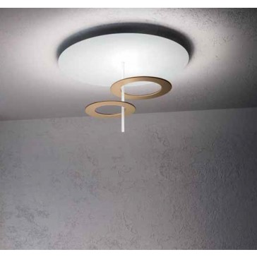 Hula Hoop P2 LED-Deckenleuchte ICONE