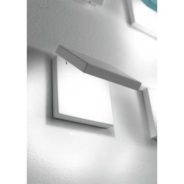 LED-Wandleuchte SPY weiss