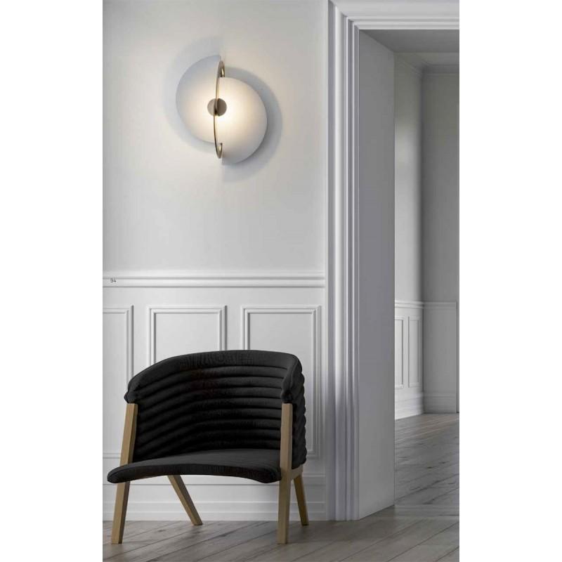Dekorative led decken wandleuchte real klein moderne for Moderne deckenleuchten