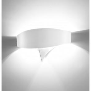 LED-Wandleuchte Scudo bianco