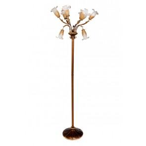 dekorative Muranoglas-Standleuchte La Vittoria del novecento