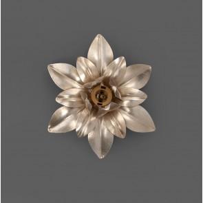 Deckenleuchte Flora Argento foglia