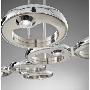 LED-Pendelleuchte QUO 4-flg. oder 6-flg