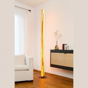 TRUNK - LED-Standleuchte 205 cm aus Echtholzfurnier von woodmosphere