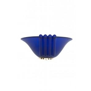 Wandleuchte Lenie Muranoglas blau