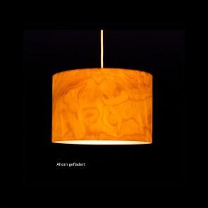 CROWN - LED-Pendelleuchte D.30 cm aus Echtholzfurnier von woodmosphere