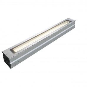 Bodeneinbauleuchte DASAR LED T8 edelstahl