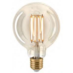 LED Globe Filament E27 gold, dimmbar