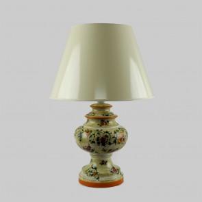 Tischlampe Torcellana Keramik Landhausstil handbemalt