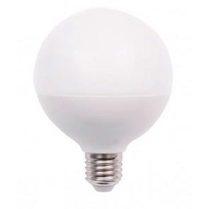 LED Globelampe opal E27 15W