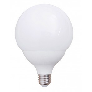 LED Globelampe opal E27 15W 120 mm
