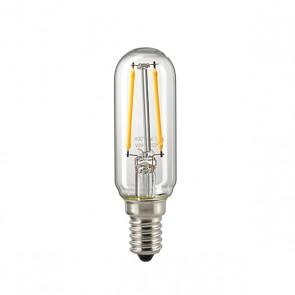 2,5W Röhrenlampe T25 Filament klar E14 250 lm 2700K dimmbar