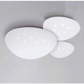LED-Deckenleuchte SCUDO 6-flg. weiß  Minitallux