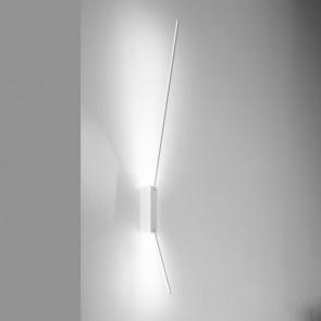LED-Decken- oder Wandleuchte SPILLO 2.60 weiß ICONE