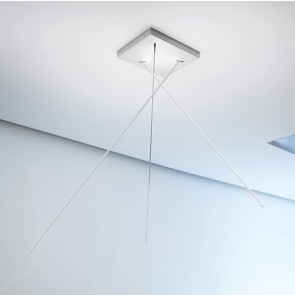 LED-Deckenleuchte SPILLO 380 weiß ICONE