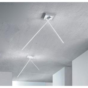 LED-Deckenleuchte SPILLO 2100 weiß ICONE