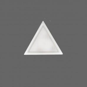 Dreieck Wandlampe aus Muranoglas
